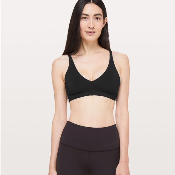157087cd2322c lululemon athletica Other - Lululemon Freely Flexed Bra Black Size 2